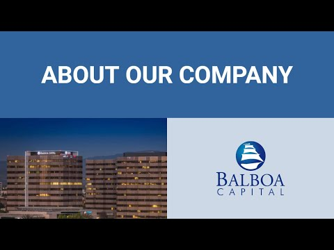 Balboa Capital Story | A+ Rated Equipment Leasing Company