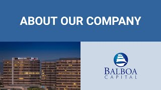 Balboa Capital Story | Leading Equipment Leasing Company