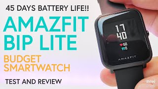 Amazfit Bip LITE Review - Check out this BUDGET Smartwatch/Fitness Tracker! (2019)