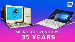 35 years of Microsoft Windows: A retrospective