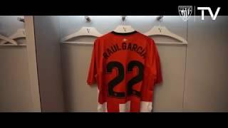 Dena prest partidarako  / Todo listo para el partido Athletic Club - Barcelona