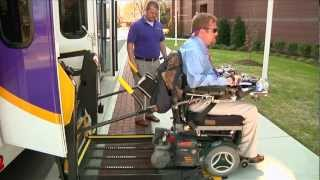 Disability Support Services and Transit Training Video
