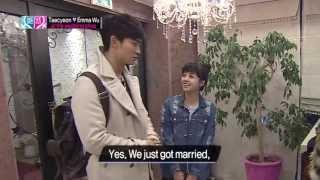 Global We Got MarriedEP04(Taecyeon&Emma Wu)#1_20130426_우리 결혼했어요 세계판_EP04(택연&오영결)#1