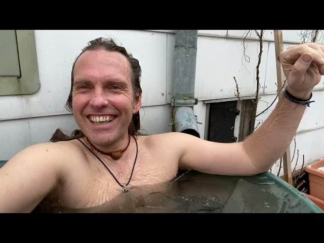 Eisbaden mit Stefan