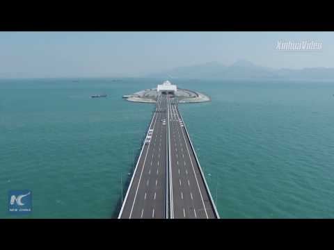 Mega project! How Hong Kong-Zhuhai-Macao Bridge was built