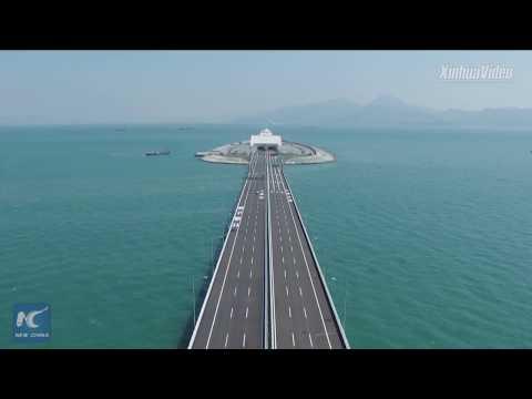 Mega project! How Hong Kong-Zhuhai-Macao Bridge was built
