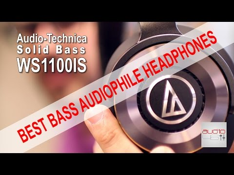 Audio-Technica WS1100IS BEST BASS AUDIOPHILE HEADPHONES.REVIEW