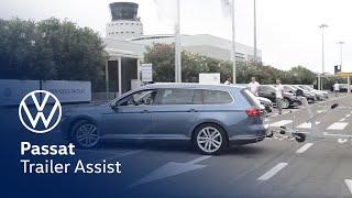 Volkswagen Passat Trailer Assist