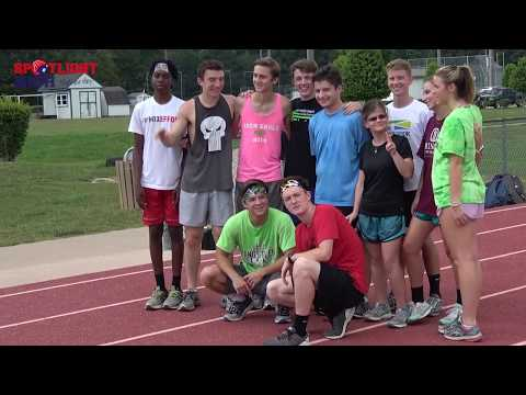 Jamestown High School Varsity Cross Country Student Athlete Inspires Team 9 15 2017