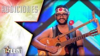 La trompeta cósmica de Jerjes el Grande | Audiciones 3 | Got Talent España 2017