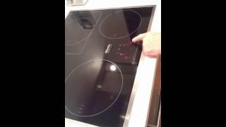 Ошибка в работе плиты Miele