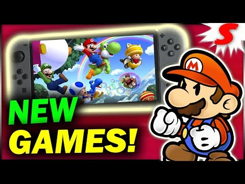 6 NEW Nintendo Games That Should Be at E3 2018! Nintendo Switch Games Speculation
