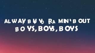 Charli XCX - Boys Lyrics   (Lyrics On Screen)