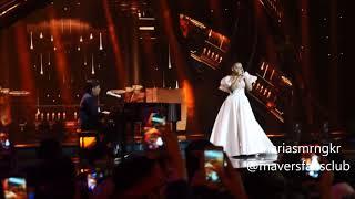 LIVE CAM-MARIA SIMORANGKIR ft YOVIE WIDIANTO (MASHUP)