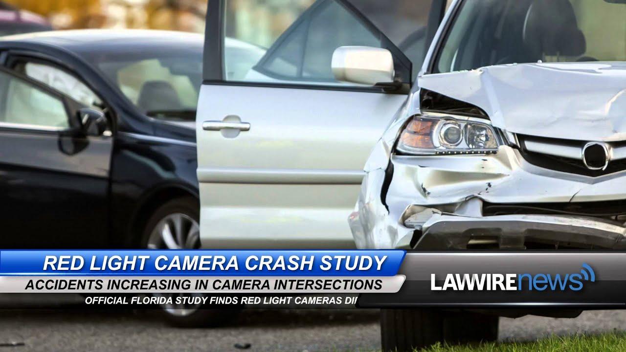 Florida Red Light Camera Crash Study | Law Wire News | February 2016