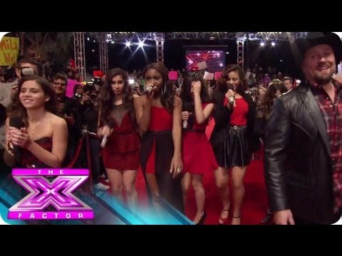 The Top 3 Ensemble Performance - THE X FACTOR USA 2012