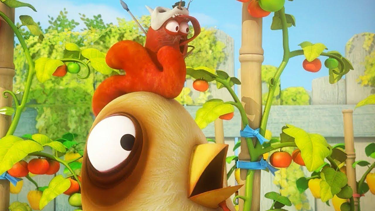 LARVA - 야생 치킨 | 어린이를위한 만화 | WildBrain