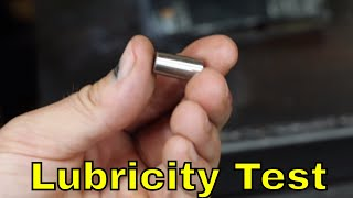How does the oil lubricity tester work?  Let's find out!