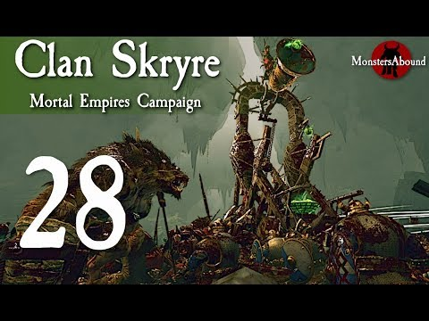 Total War: Warhammer 2 Mortal Empires - Clan Skryre #28