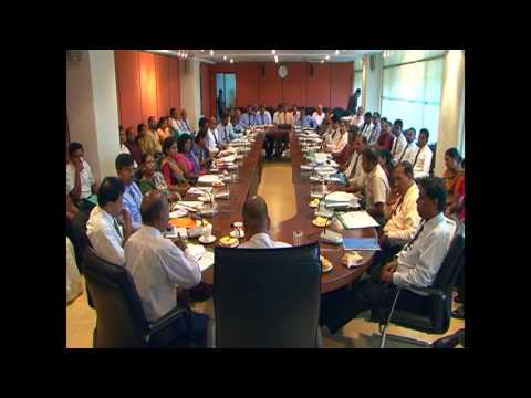 MInister Mahinda Amaraweera 2016 07 15 at fisheries ministry