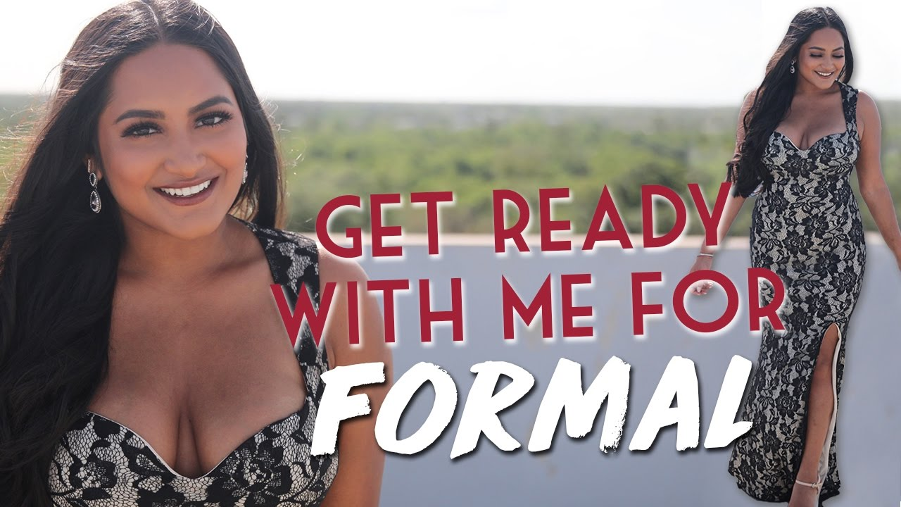 Get prom ready with me hair makeup dress - Get Ready With Me Formal Prom Makeup Tutorial