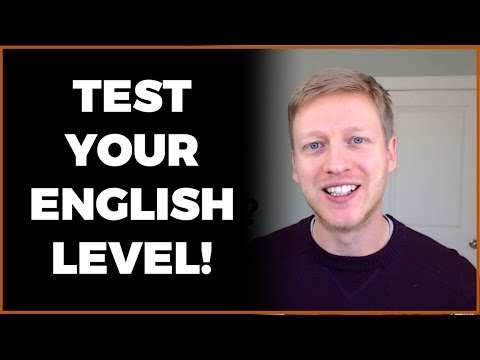 What Level of English Do You Have? Watch This Video to Find Out Today!