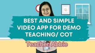 Best and simple video app for demo teaching/ COT. capcut tutorial screenshot 5