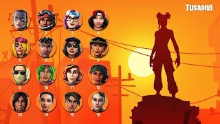 FORTNITE SHADOW CHALLENGE - GUESS THE SKIN FOR YOUR SUNDAY ? tusadivi