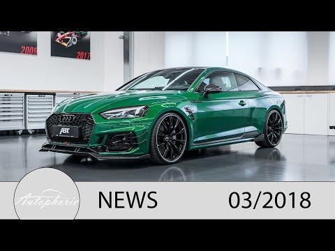 NEWS: ABT RS5-R, Daimler OM 654, Volvo Elektroauto, Porsche 992 Gerüchte [4K] - Autophorie