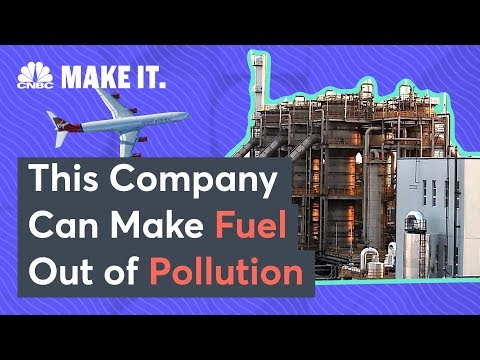 Airplanes May Soon Fly Using Fuel Made From Pollution