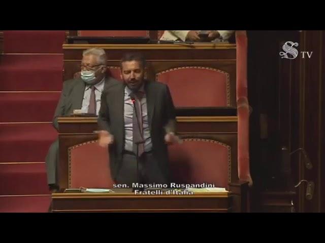 FdI Parlamento - La dichiarazione di voto del Sen. Ruspandini sul DL Semplificazioni