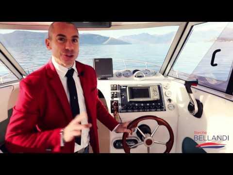 Saver Manta 21 Cabin FIsh Barca Usata solo in Lago [ Prova in acqua ]