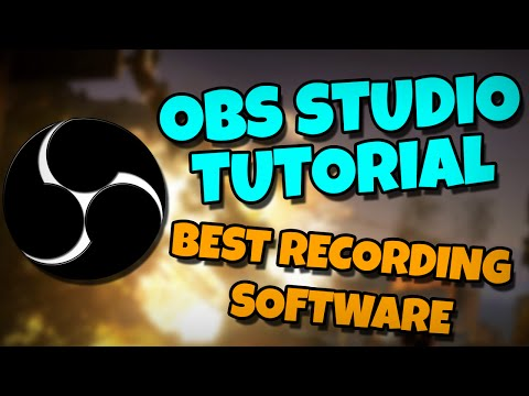 OBS Studio Best Settings 2016 - How To Record PC Games (TUTORIAL)