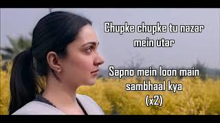 YEH AAINA LYRICS | Kabir Singh | Shreya Ghoshal | Shahid Kapoor, Kiara Advani |
