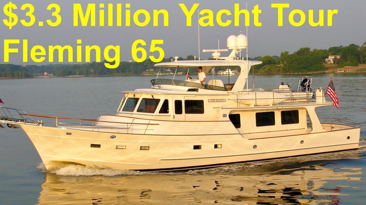 Download $3.3 Million Yacht Tour : 2017 Fleming 65