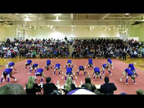 Midlothian Middle School at Chesterfield County Middle School Cheer Competition 2019