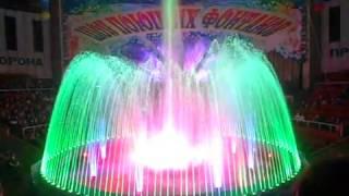 Супер световое шоу на воде!