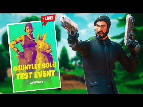 HOW I GOT 100 POINTS IN THE GAUNTLET CUP!! INSANE FINISH! (Fortnite Battle Royale)