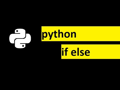 Python Programming Tutorial for beginners | How to use If Else Statement in Python programming thumbnail