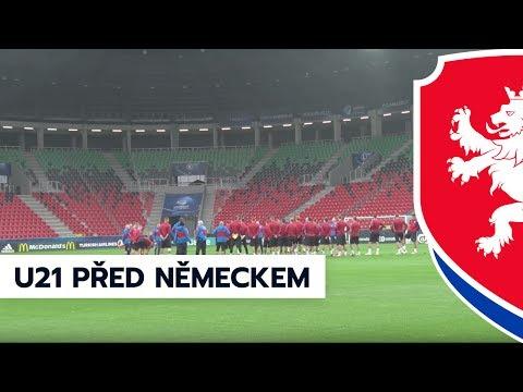 Reprezentaci do 21 let čeká zítra zápas s Německem