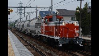 衣浦臨海鉄道KE65 3号機(5573レ) 石浜駅通過