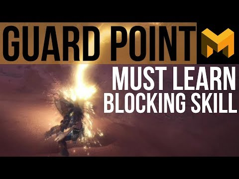 How to Guard Point Block (Monster Hunter World Tutorial) thumbnail