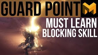 How to Guard Point Block (Monster Hunter World Tutorial)