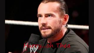 CM Punk- Cult of Personality Reverse With Lyrics