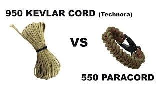 950 Kevlar Cord VS 550 Paracord   Canadian Prepper