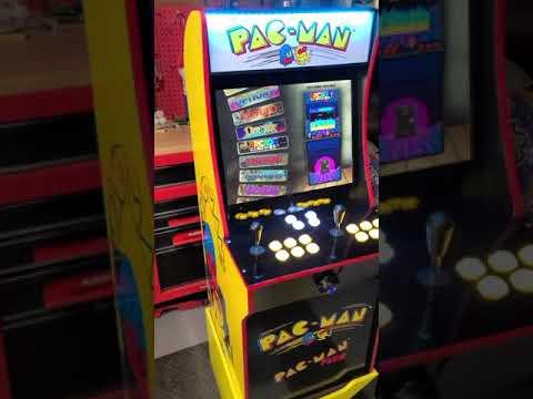 Arcade1up Pacman upgrade 2400 games from J M Arcades