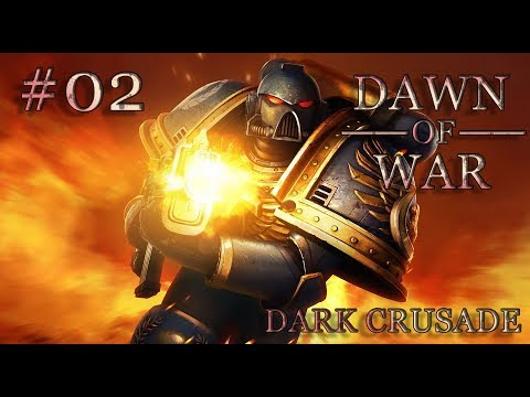Dawn of War - Dark Crusade. Part 2 - Defeating Imperial Guard. Space Marines. (Hard)
