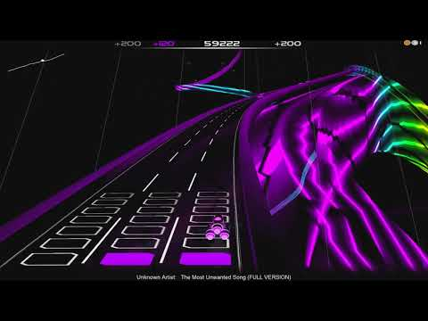 Audiosurf - Most Unwanted Song