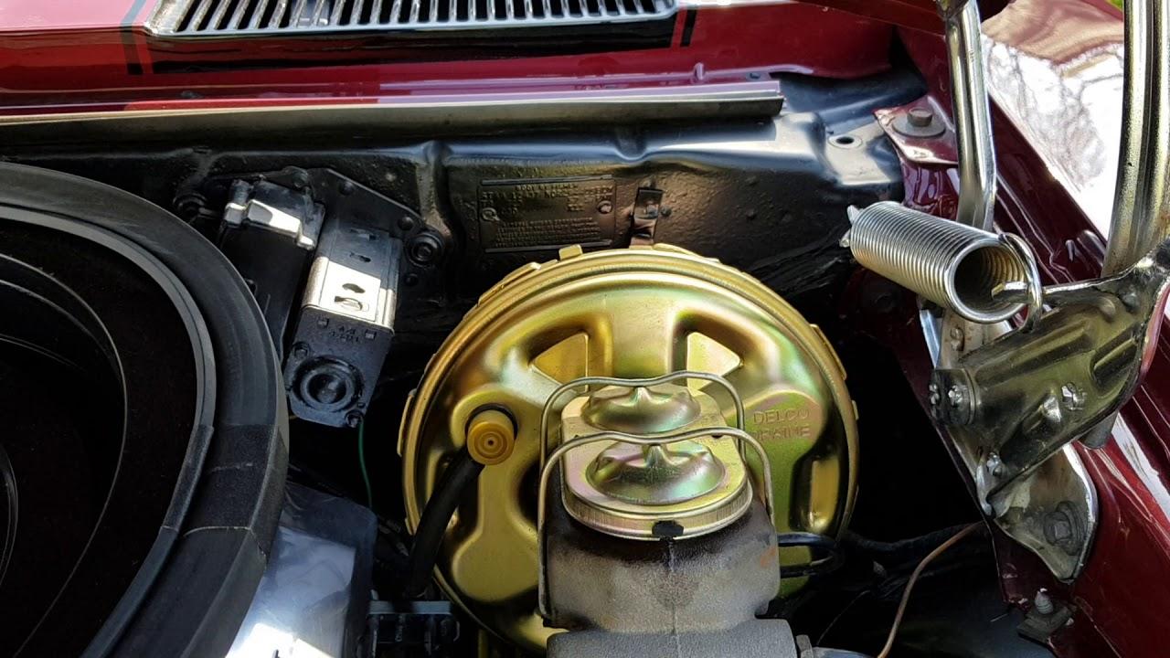 1969 Camaro Engine Bay Detail Youtube 69 Wiring Diagram For
