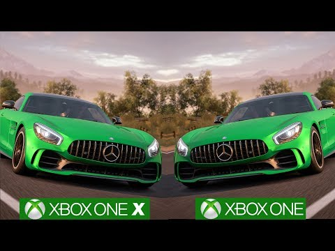 Forza Horizon 3: Xbox One X vs Xbox One Graphics Comparison [4K/60fps]